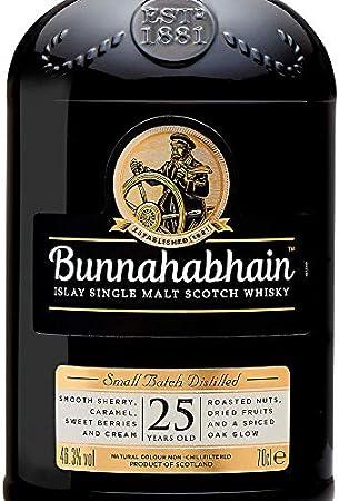 Bunnahabhain 25 Years Old Islay Single Malt Scotch Whisky 46,3% - 700 ml in Giftbox