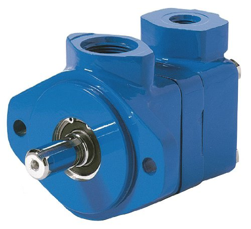 Vickers VQ Series Single Vane Pump, 2500 psi Maximum Pressure, 21 gpm Flow Rate, 4.13 cubic-inch/rev Displacement, Left Hand Shaft Rotation, 1-1/2