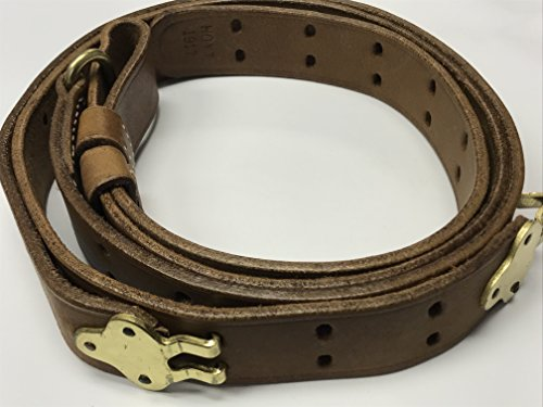 U.S. Springfield WWI 1907 Pattern Leather Sling- Genuine, used for sale  Delivered anywhere in USA