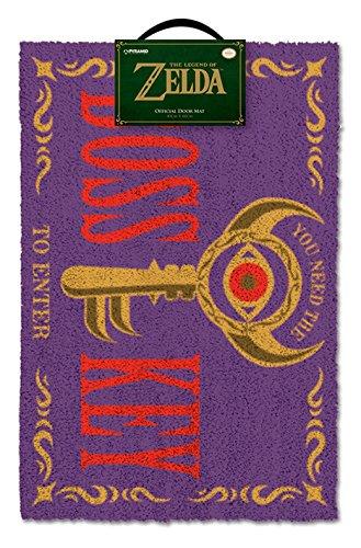 The Legend of Zelda Boss Key Purple Door Mat 40x60cm Merchandise 24/7 GP85082