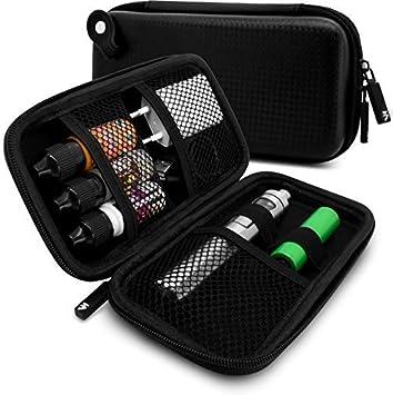 Estuche para cigarrillo electrónico | Estuche vaporizador para líquidos y accesorios para el camino: Amazon.es: Salud y cuidado personal