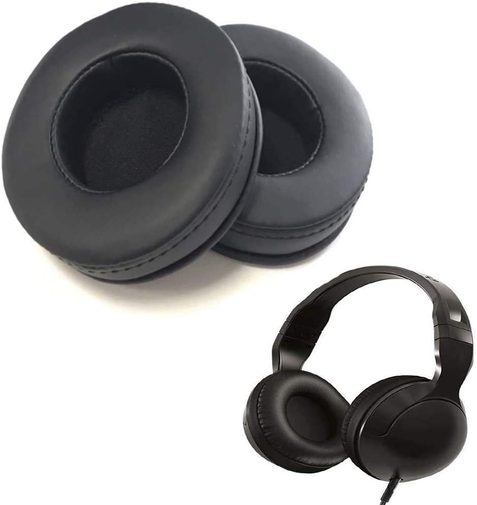Shenligod Earpad Replacement for Skullcandy Hesh Hesh 2 Bluetooth Wireless Headphones Replacement Ear Cushions Ear Pads Kit Exact Ear Cups Ear Cover Earpad Repair Parts Black