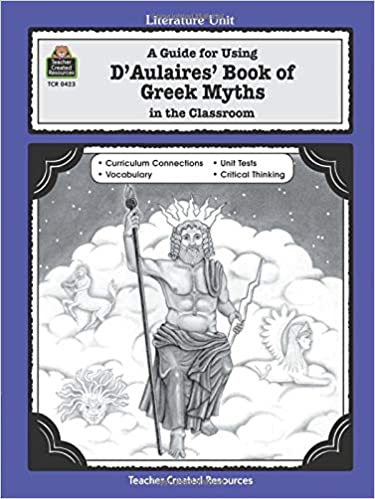 Amazon.com: A Guide for Using D 'Aulaires' Book of Greek Myths in ...