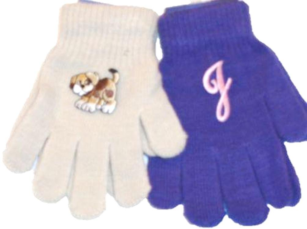 Two Pairs of One Size Black Magic Stress Gloves for Infants Ages 1-4 Years