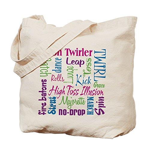 CafePress–Baton Twirler–Gamuza de bolsa de lona bolsa, bolsa de la compra