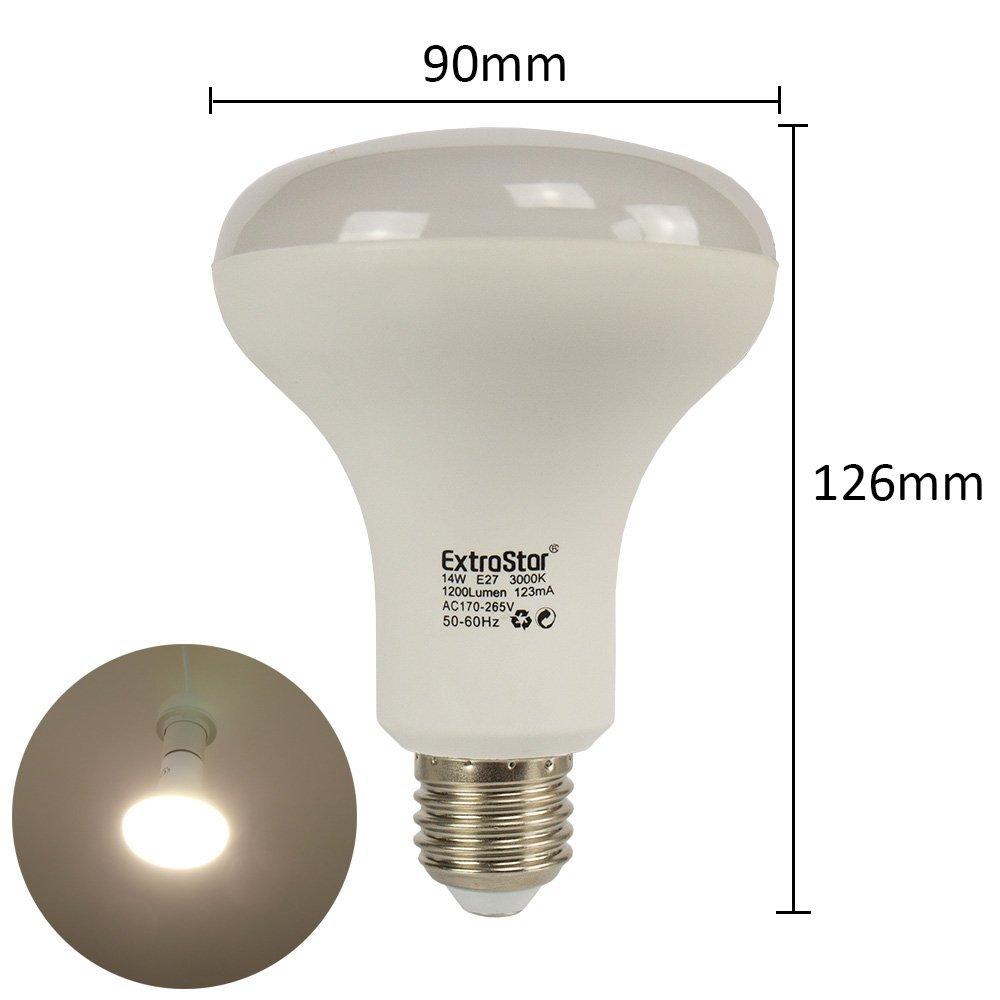 1 x LED lámpara E27 extra Star 8 W (=60 W) Color Blanco Frío Blanco Cálido b55pb, 14W Kaltweiss 6500K, E27, 14.0 wattsW, 230.00 voltsV: Amazon.es: ...