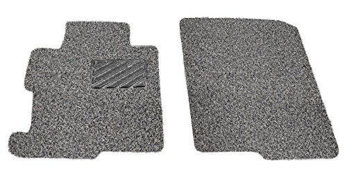 Custom Fit Heavy Duty Custom Fit Car Floor Mat for 2011-2018 Toyota Sienna Mini Van, All Weather Protector 2 Pieces Front Seat set (Grey and Black) -