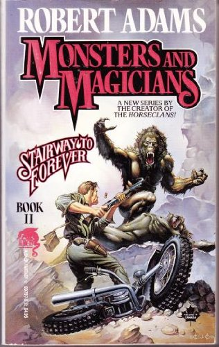 book cover of Monsters and Magicians