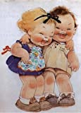img - for Little Girls Laughing - Birthday Greeting Card book / textbook / text book