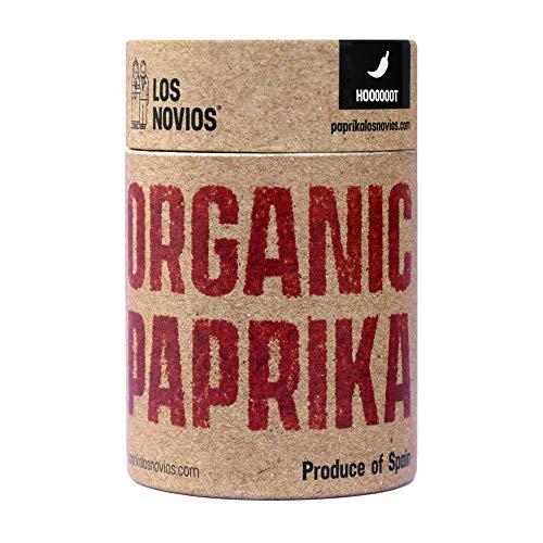 Pimentón Ecológico Picante 60 g – Paprika BIO Los Novios Organic Gourmet: cultivado y envasado en España (ES-ECO-024…