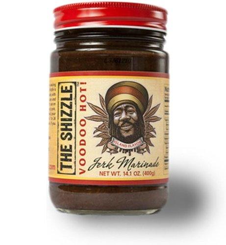 The Shizzle Jerk Marinade Voodoo Hot Sauce