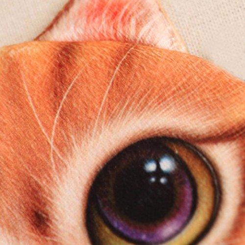 3D Cute Purse Cat Women Gift Bag Purse by LMMVP Coin Girls Yellow Print Wallet Bag wtpSTSq