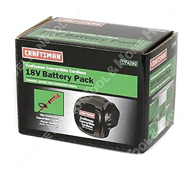 Craftsman 74299 18V 1.7Ah NiCD Battery New for 700994 74291 74290 Hedge Trimmer -supplier-heltontool