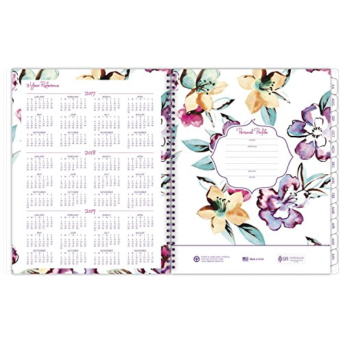 AT-A-GLANCE Academic Weekly / Monthly Planner, July 2017 - June 2018, 8-1/2
