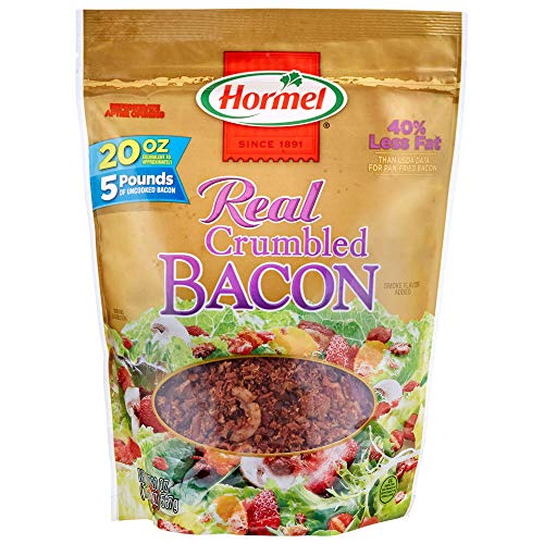 Hormel Real Crumbled Bacon, 20 Ounce (Hormel Real Bacon)