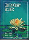 Contemporary Business, Boone, Louis E., 003010274X
