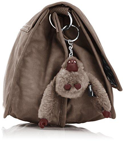 femme Monkey Marron Sacs Kipling bandoulière Louiza Brown mode IYwxXv