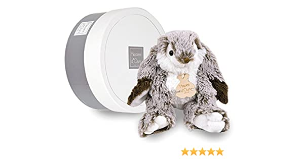 Amazon.com : HISTOIRE DOURS - MARIUS The French Rabbit - Small Plush Bunny 7.8 in : Baby