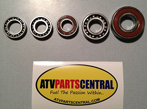 Yamaha Raptor 700 2006-2013 Complete Bottom End Transmission & Shift Cam Bearing Kit ()
