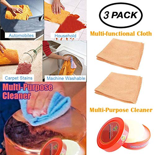OrchidAmor Natural Multi-Purpose Cleaner Brilliaire Polisher +2PC Multi-Cleaning Rag Combin 2019 - Plate Ballistic Ceramic
