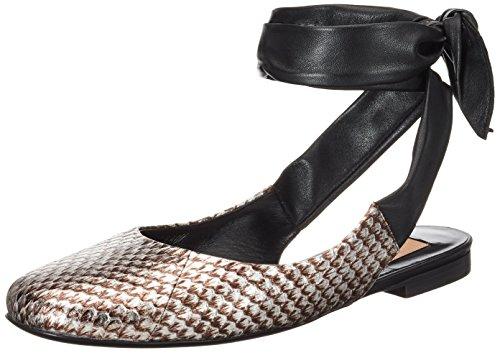 Sandali 5034 1 caviglia Donna con cinturino alla Argento 371 Argento Kallisté ESqHn1wU1