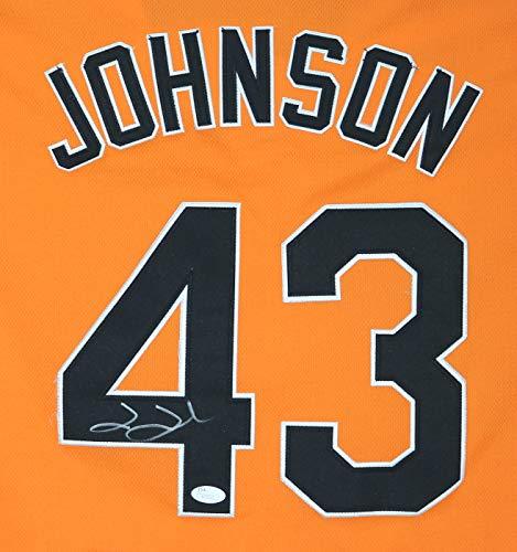 - Jim Johnson Baltimore Orioles Signed Autographed Orange #43 Jersey JSA COA