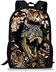 Summeridea Cool 3D Animals Dinosaur Children School Book Bag Kids Printing Backpacks