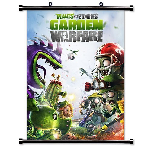Laohujia Plants vs Zombies: Garden Warfare Game Fabric Wall ...