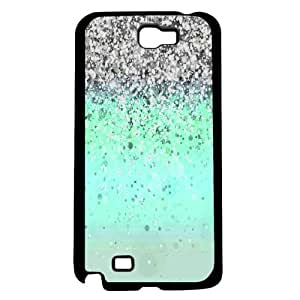 Teal Glitter (Galaxy Note 2 II)