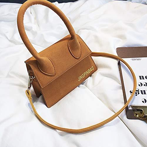 Marron Messenger Sac Mini WSLMHH Bag Fille épaule été personnalité Sac à Main Mode marée BPdYPxO
