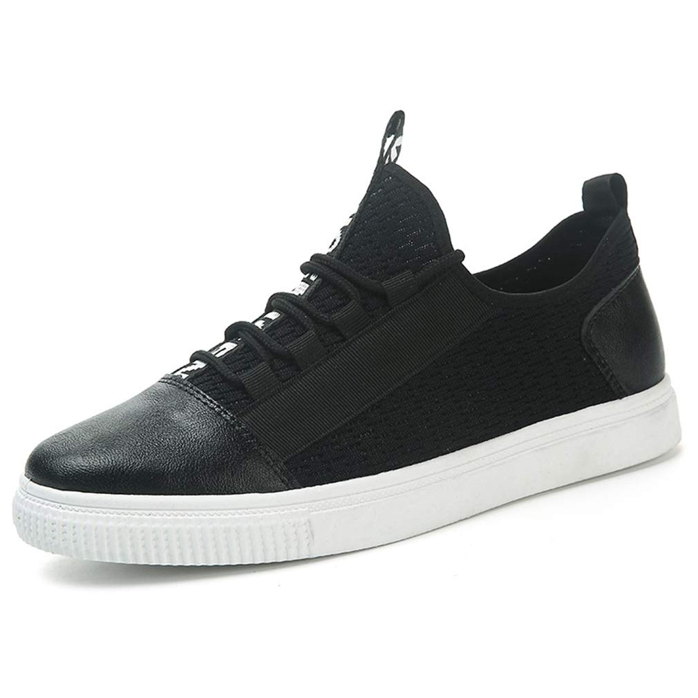 Gfphfm Herrenschuhe, 2019 Spring Fall New Turnschuhe Deck Schuhe schwarz Wild Sports schuhe Mode Casual Breathable Mesh Schuhe,A,43