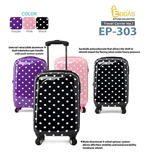 Amazon.com: NEW EDDAS polka dot Purple 20