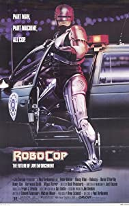 Amazon.com: Robocop 11 x 17 Movie Poster - Style A: Lithographic ...