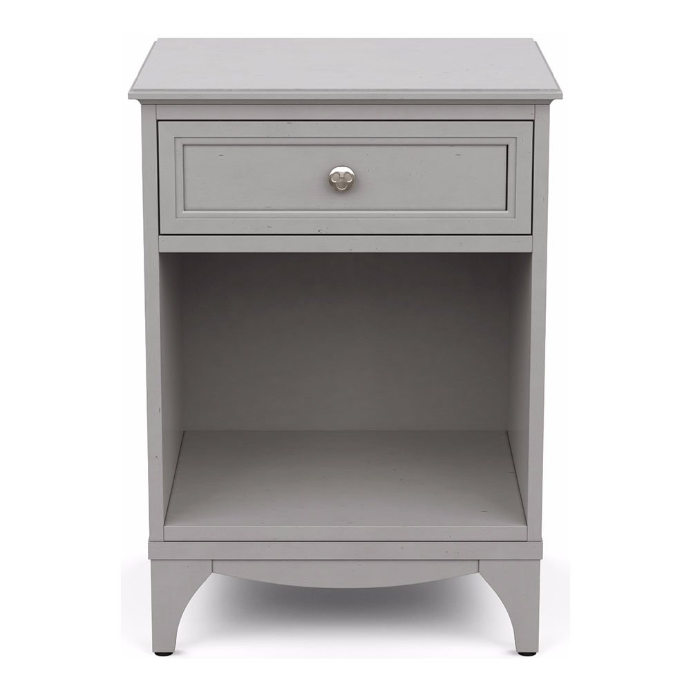 Ethan Allen | Disney Hyperion Nightstand, Mouse Grey