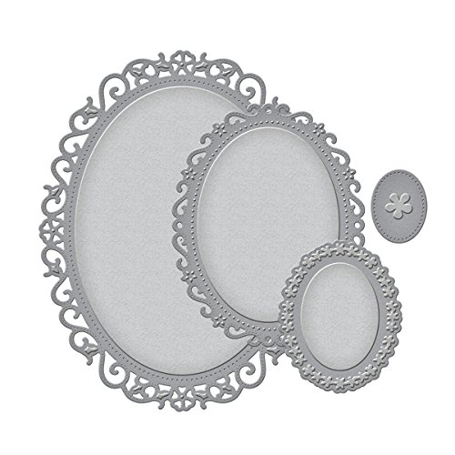 Nestabilities Decorative Elements Floral Ovals Die Templates ()