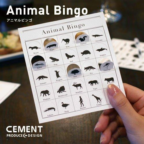 Animal Bingo (アニマルビンゴ) ビンゴゲーム [CEMENT]