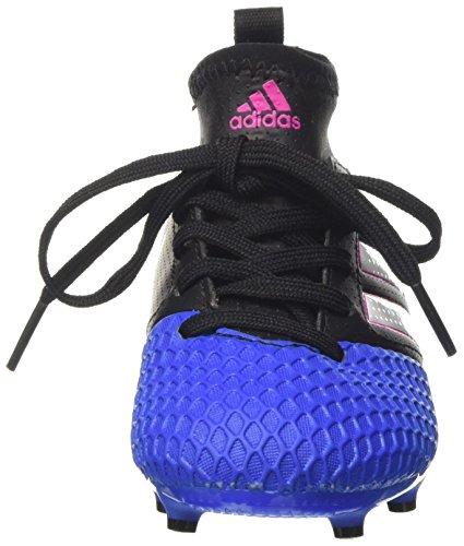 adidas Ace 17.3 FG J, Botas de Fútbol Unisex Bebé Negro (Core Black/Ftwr White/Blue)