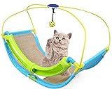 ANPI Cat Swing Toy - Multi-Function Cat Litter Cat Swing Toy Cat Scratcher Cat Climbing Frame Hammock