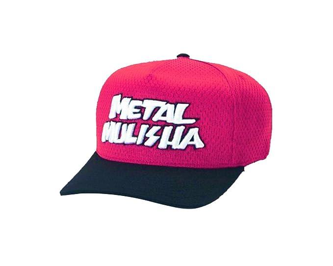 Metal Mulisha - Gorra de béisbol - para hombre rojo rosso: Amazon ...