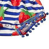 TUONROAD Infant Baby Girls Fruit Strawberry Romper