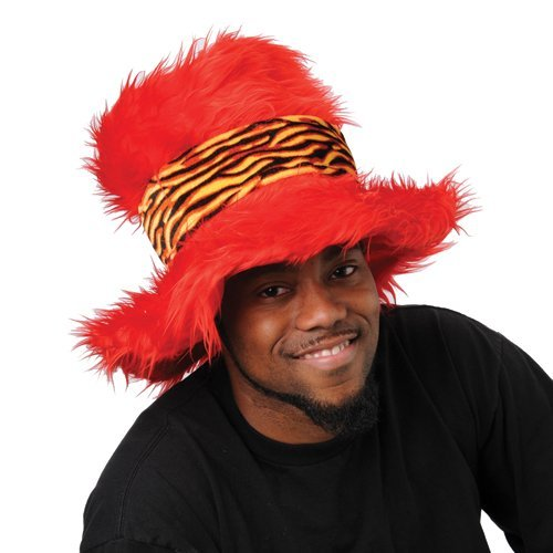 JUMBO FURRY TOP HAT , SOLD BY 9 PIECES