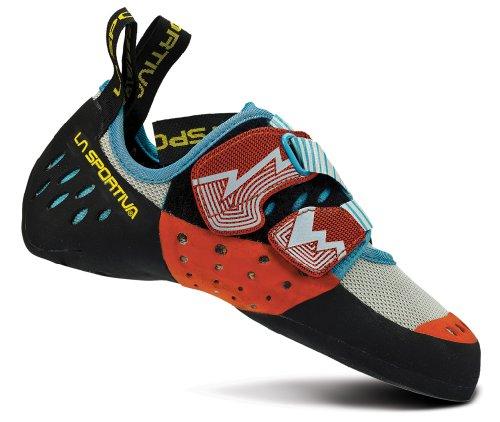La Sportiva Oxygym Climbing Shoe - Women's White/Coral 36.5