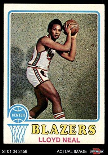 1973 Topps # 129 Lloyd Neal Portland Trail Blazers (Basketball Card) Dean's Cards 5 - EX Trail - Lloyd Portland