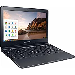 Samsung High Performance Chromebook computer, Intel Dual-Core Celeron N3060 up to 2.48GHz, 11.6 inch WLED HD Display…