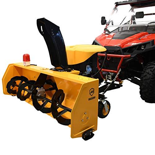 "Massimo 60"" UTV/ATV Universal Snowblower 420cc Utility Vehchile Side by Side"