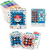 Melissa & Doug Travel Memory Game, Travel Hangman Game Travel Bingo Game