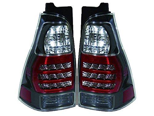 - DEPO TOYOTA 4 RUNNER 03 - 09 JDM BLACK Style BEZEL LED REAR TAIL LIGHT LAMP PAIR