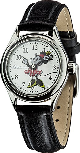 Ingersoll Women's IND 26526 Petite Minnie Analog Display Quartz Black Watch