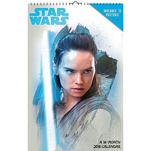 2018 Star Wars Episode VIII Poster Calendar