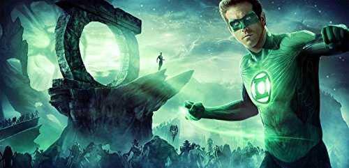 Aka Green (002 Green Lantern Four Minute Trailer 29x14 inch Silk Poster Aka Wallpaper Wall Decor By NeuHorris)